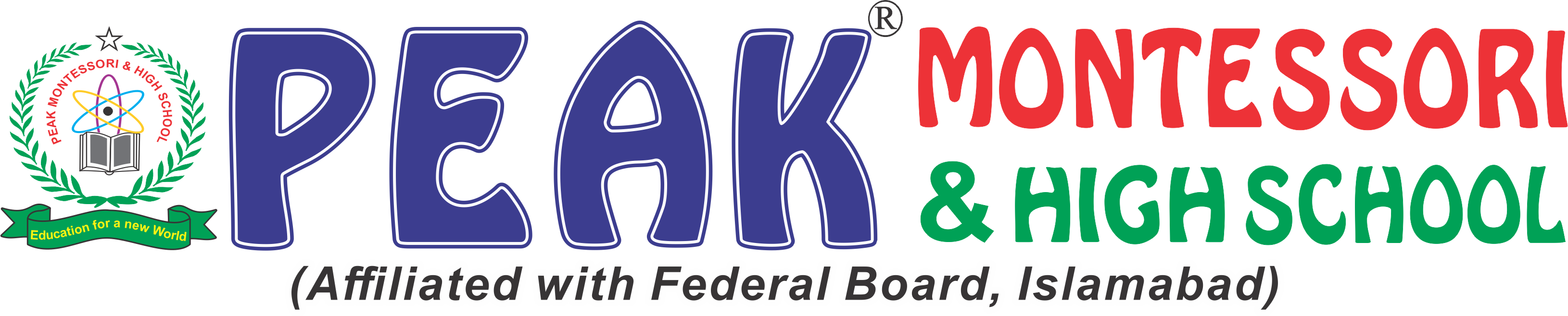 Peak School Logo & Name R (1)